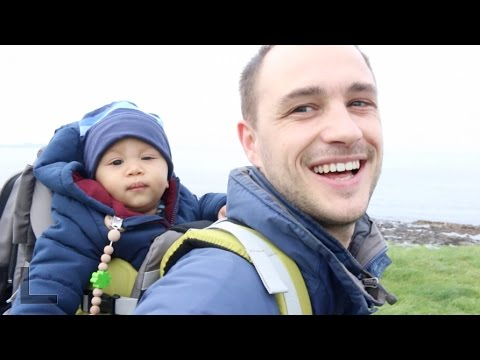 BABY'S FIRST HIKE - IRELAND TRAVEL VLOG #1 ENNISCRONE | AdannaDavid