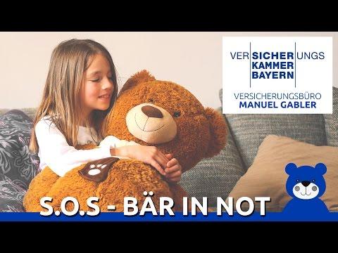 S.O.S - BÄR IN NOT - Imagefilm Versicherungskammer Bayern Manuel Gabler