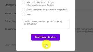 Jak usunąć konto na Badoo (łatwy instruktaż)