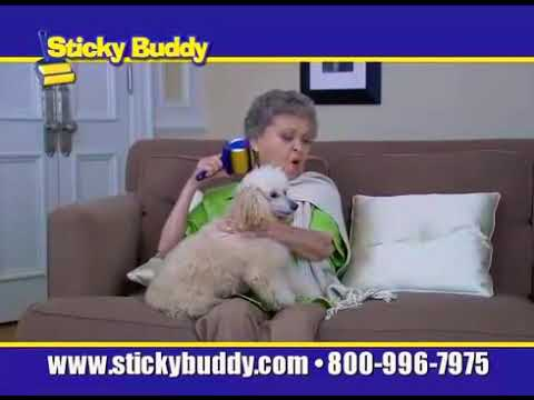 Never let grandma use the sticky buddy