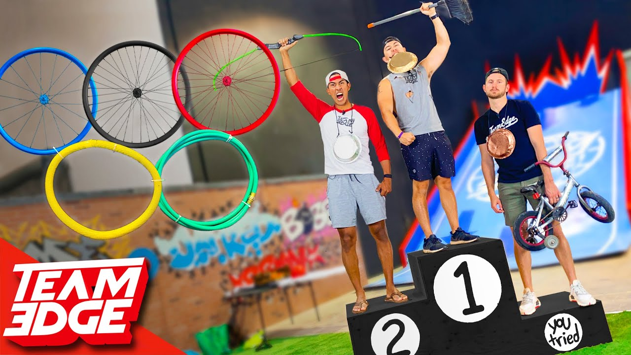 Budget Olympics Challenge! Playing Olympic Games for Less than $10 | Crazy Sports
