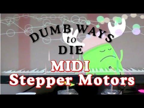 Dumb Ways to Die - midi Stepper Motor cover