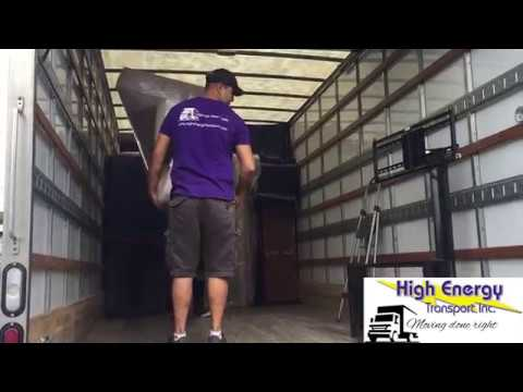 High Energy Transport - Unloading Furniture