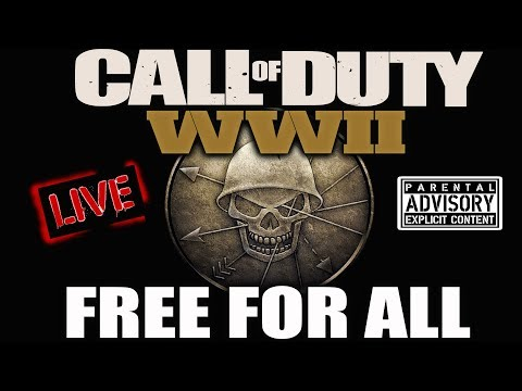 ROAD TO 2.00 KD - CODWW2 FREE FOR ALL LIVE! HOW TO LIVE LONGER AND KILL MORE!