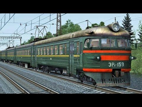 Видео Играть симулятор поезда онлайн без регистрации
