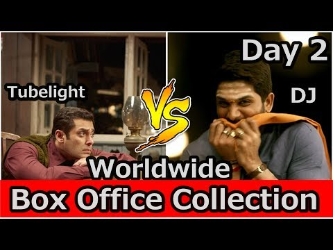 Tubelight Vs DJ Worldwide Box Office Collection Day 2 I Eid 2017