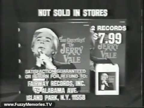 The Greatest of Jerry Vale (Record Offer, 1979)