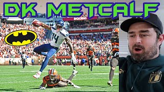 Rugby Fan Reacts to DK METCALF Rookie Season NFL Highlights!