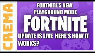 Fortnite Playground CLOSED: When will LTM mode be back? Is matchmaking working?