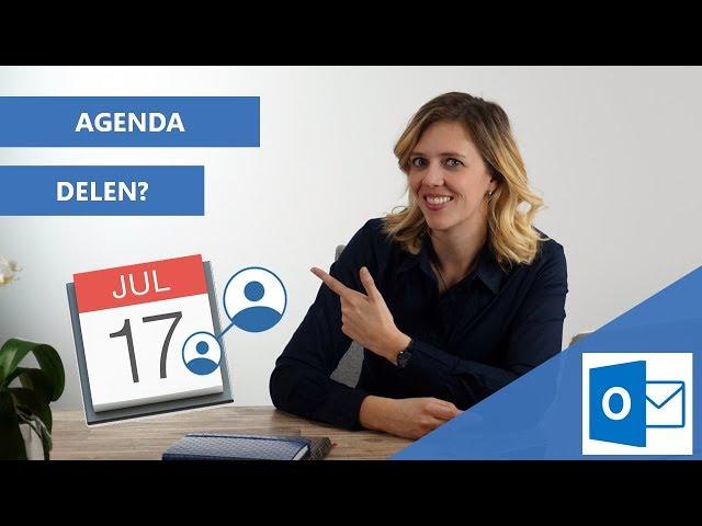 Agenda delen in Outlook