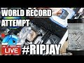 Live: #RIPJAY OC World Record Attempt #RIPPAUL