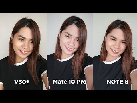 V30+ vs Mate 10 Pro vs Note 8 Triple Camera Comparison