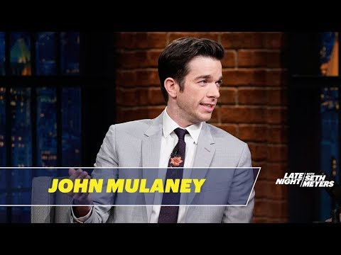 John Mulaney Reminisces About His Time as a Writer at SNL