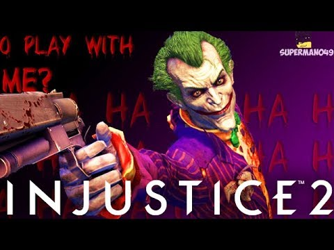 "NO ONE PLAYS THIS AMAZING CHARACTER... - Injustice 2 ""The Joker"" Gameplay Playing With Subs!"
