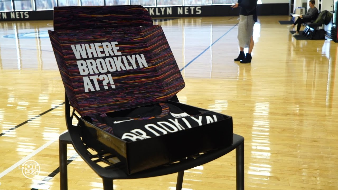 finest selection d132b ebb13 Brooklyn Nets Unveils New Biggie Inspired Uniform