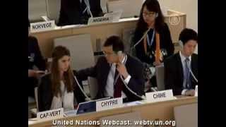 Новости.Что вызвало такую реакцию у делегатов от КНР на сессии ООН.(Больше информации на канале https://www.youtube.com/user/NTDRussian В сентябре в Женеве проходила 24-я очередная сессия Совет..., 2013-10-03T17:21:44.000Z)