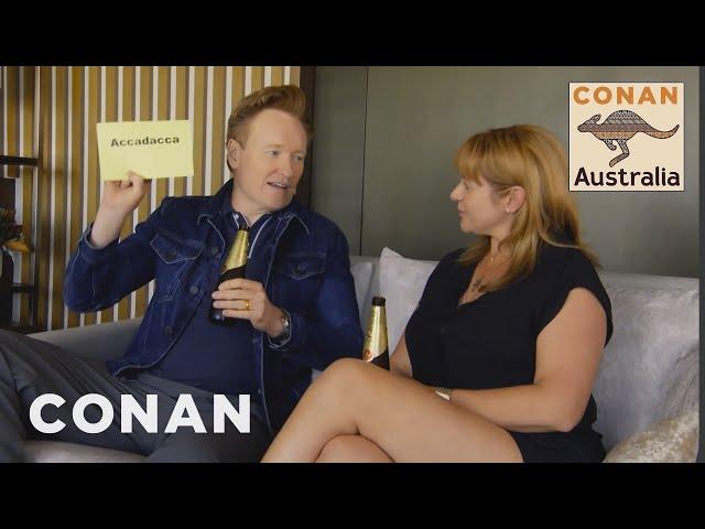 Conan Learns Australian Slang