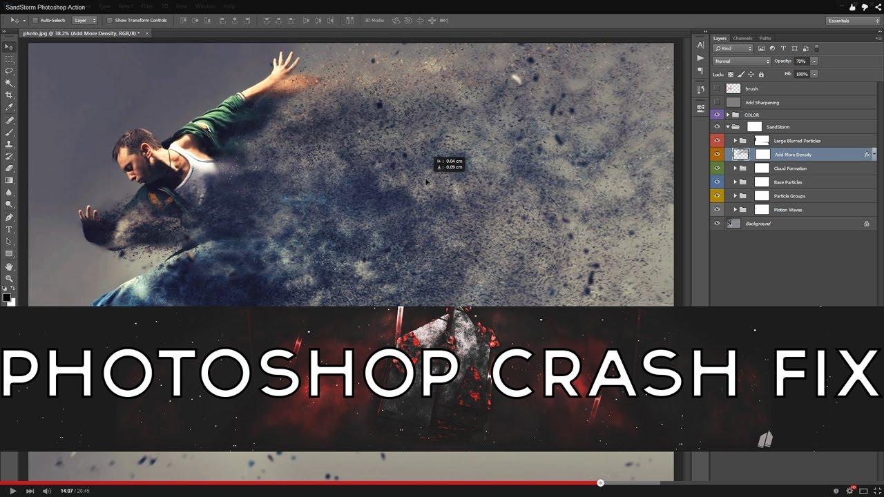 Tutorials: Episode #1: Photoshop CC & CS6 Crashing Fix