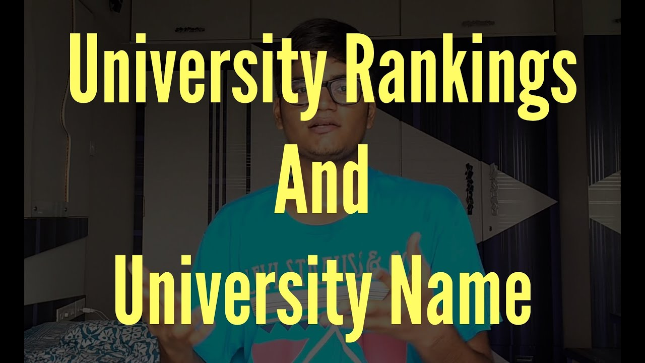 how important is university s ranking and name undergrad in us