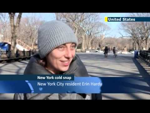 NYC experiencing extreme winter weather: Northeastern US enduring below freezing temps