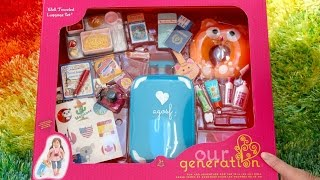 American Girl Doll Travel Set and Packing for American Girl Doll