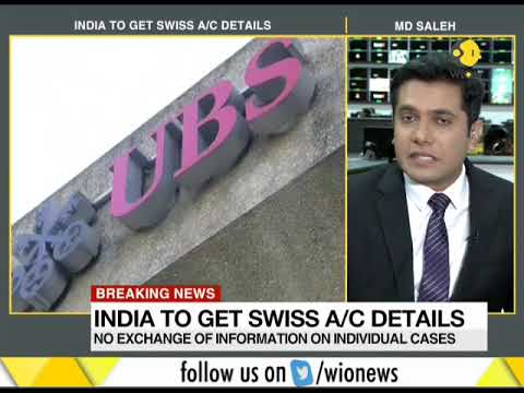 Breaking News: India to get swiss account details