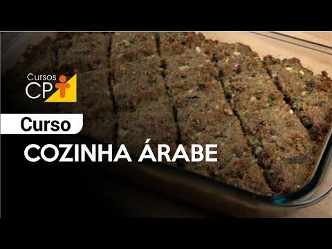 Clique e veja o vídeo Curso Cozinha Árabe