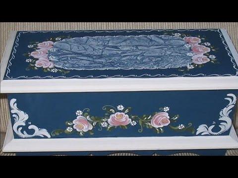 Clique e veja o vídeo Curso Pinturas Decorativas em Madeira