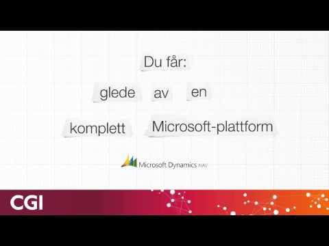 CGI Norway's Microsoft Competence/ CGI Norges Microsoft-kompetanse (Norwegian)