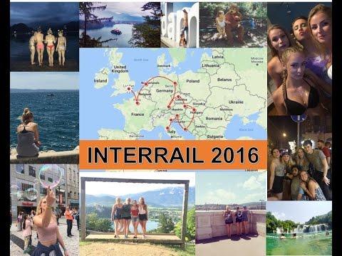 INTERRAIL 2016 | Travelling Europe Summer 2016 | GoPro Video