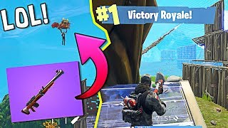 *NEW* Hunting Rifle Victory Royale!!   Fortnite Battle Royale