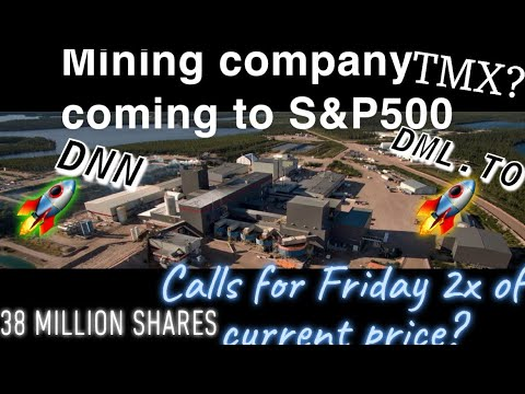 DNN Stock News and Update - Denison Mines Corp Stock