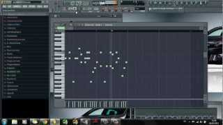 FL Studio 8: Avicii- Superlove MIDI( Melody)