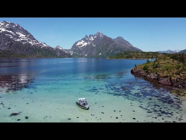 Brakøya in Raftsundet –Northern Norway