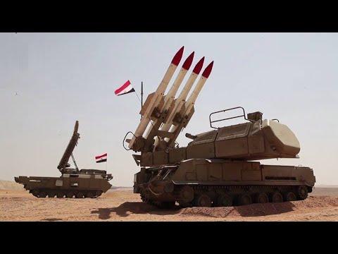 أقوي أسلحة الدفاع الجوي المصري - منظومة بوك -Buk-M3 Surface-To-Air Missiles