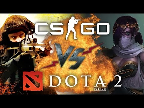 видео: Рэп Баттл - counter-strike: global offensive vs. dota 2