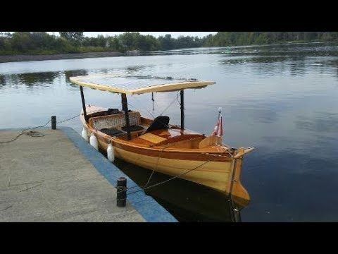 Part One Solar Electric Boat Trip on the Rideau, Kingston to Ottawa to Perth Voyage