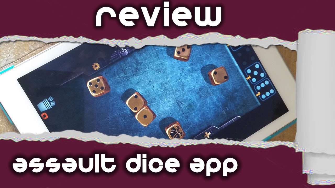 Review: Games Workshop Assault Dice App
