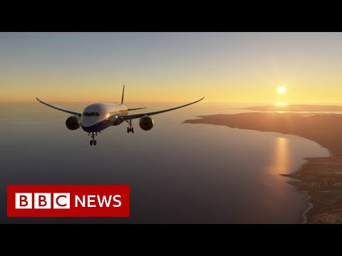 Microsoft Flight Simulator: The entire world in a game - BBC News