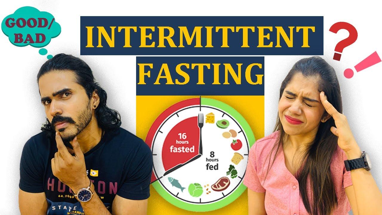 INTERMITTENT FASTING GOOD/BAD|TRYING OUT BEST WEIGHTLOSS DIET #jismavimal#makeyourself#weightloss