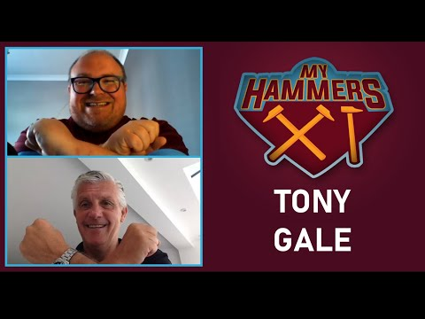 My Hammers XI - Tony Gale