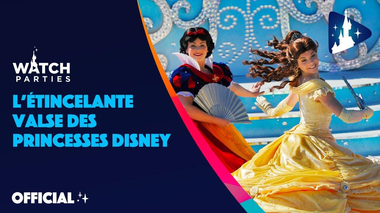 Une Valse De Conte De Fées Avec Les Princesses Disney Disneyland Paris Replay