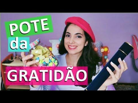 ABRINDO POTE DA GRATIDÃO + CARTINHA DE 1 ANO