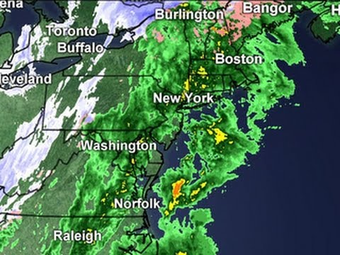 Thanksgiving weather forecast: East Coast storms - YouTube