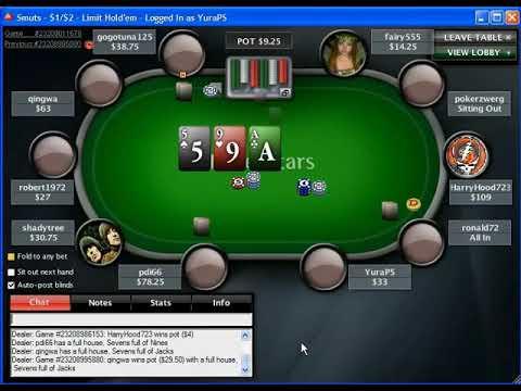 Видео уроки по онлайн покеру карты сайт играть онлайн
