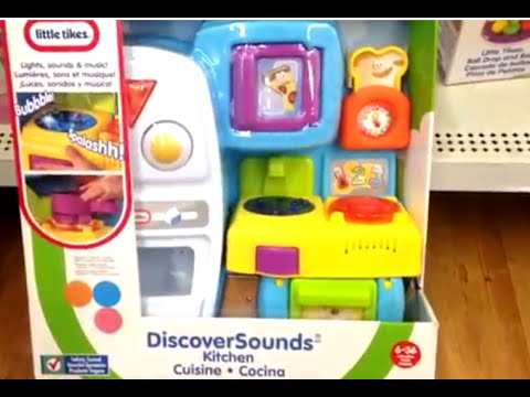 Discover Sounds Kitchen by LITTLE TIKES - YouTube