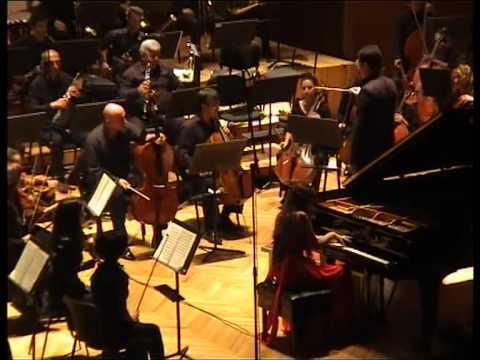 Nareh Arghamanyan: Khachaturian - Piano Concerto, Part 3 (encore: Khachaturian - sabre dance)
