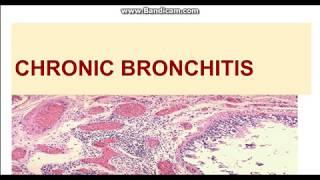 Chronic bronchitis: Etiopathogenesis and Morphology