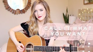 Call It What You Want - Taylor Swift Cover | Carley Hutchinson