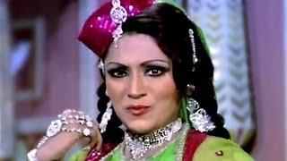 Mera Galiyon Mein Ana Jana Band - Bindu, Pran, Chakkar Pe Chakkar Song